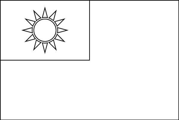 Taiwan-Flag-BW